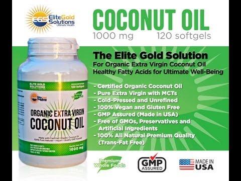 Best Organic Virgin Coconut Oil Capsules   Coconut Oil Health Benefits: Hair, Skin, Weight Loss
