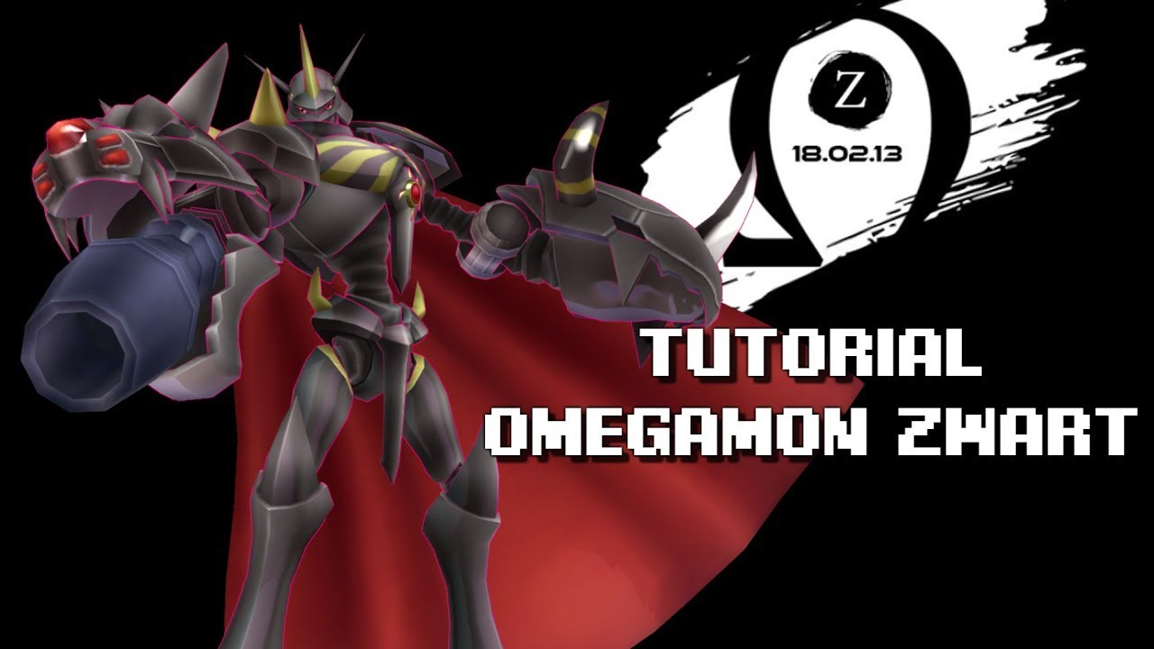 [DMO] Omegamon Zwart: Jogress Quest Tutorial - YouTube