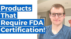 All KITCHEN & DINING Products Require FDA Certification! Food Contact Safety (FCS) Requirement!