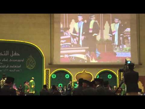 Sultan Sharif Ali Islamic University (UNISSA) convocation