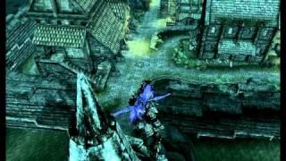 TES V: Skyrim Развлекаемся - маг-маньяк в драконьей броне