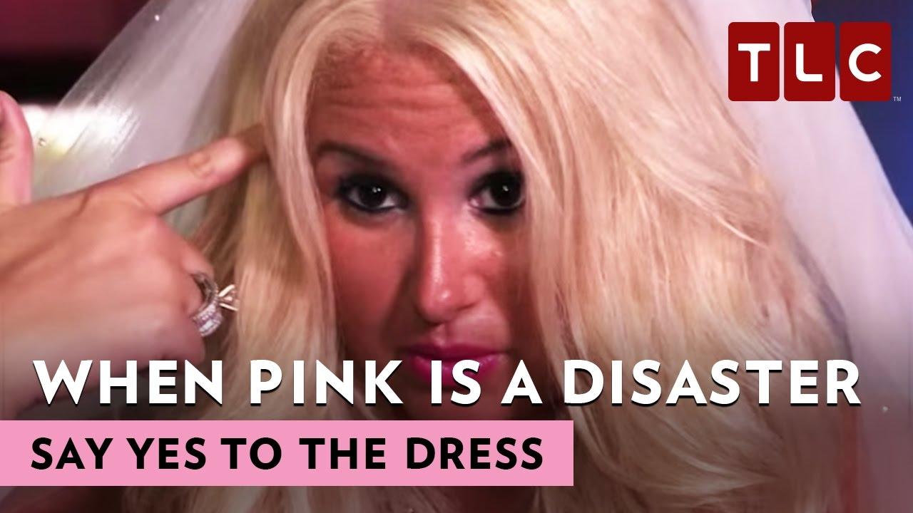 When pink is a disaster say yes to the dress youtube when pink is a disaster say yes to the dress ombrellifo Gallery