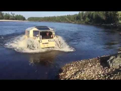 Вездеход Шерп в Ханты-Мансийске