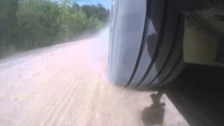 видео колесо на скорости