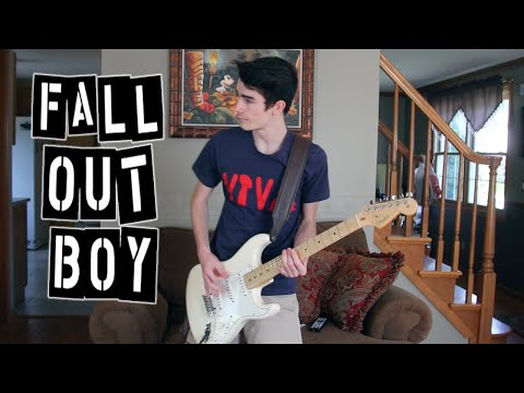 Fall Out Boy - Sugar We're Going Down (Guitar Cover w/ Tabs)