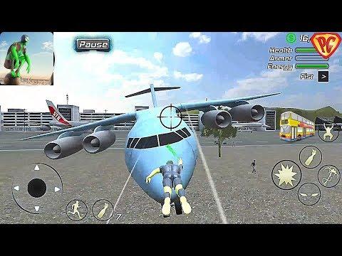 Rope Frog Ninja Hero - Strange Gangster Vegas #53 I Bought All The Planes