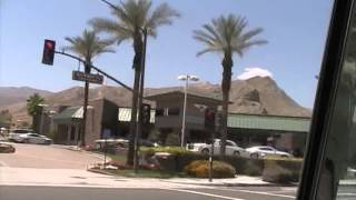 Indian Wells to Palm Springs, California