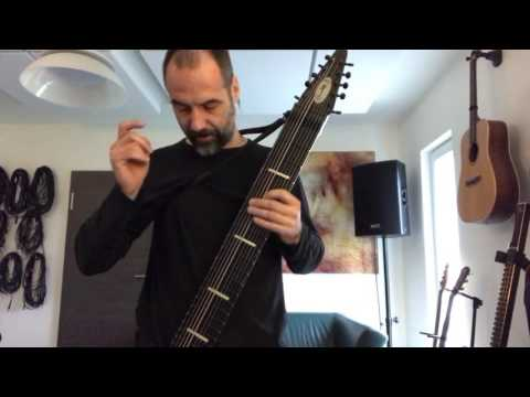 Learning the Chapman Stick (Railboard) - First day realizations