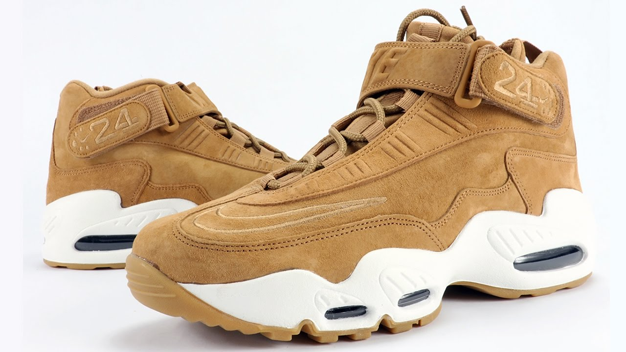 2bac7ba83cd39 Nike Air Griffey Max 1 Wheat Flax Review - YouTube