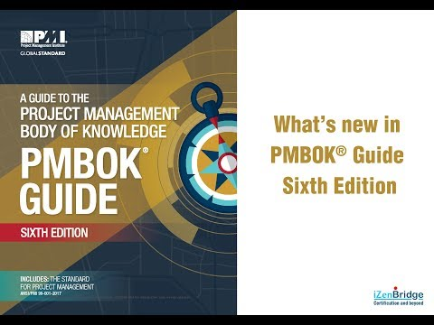 What's New in PMBOK® Guide Sixth Edition
