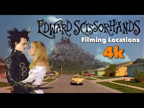 Edward Scissorhands - The Filming Locations (4K)