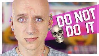 One of Roly's most viewed videos: Dangerous Piercings & Body Modifications | Roly