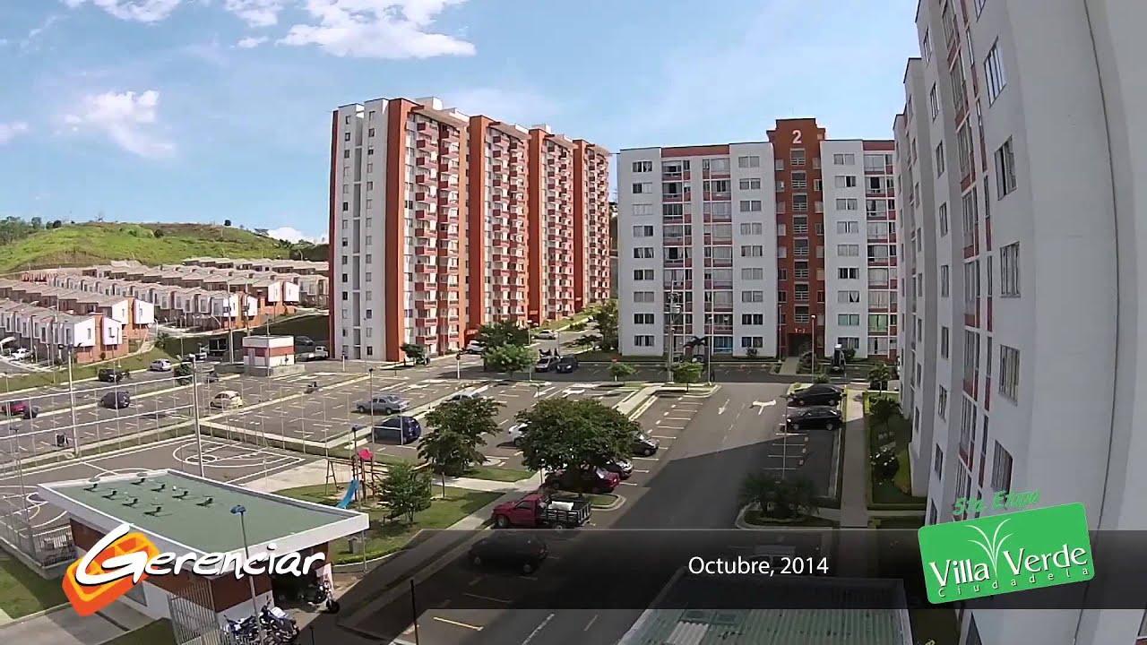 Apartamentos villa verde constructora gerenciar youtube for Constructora
