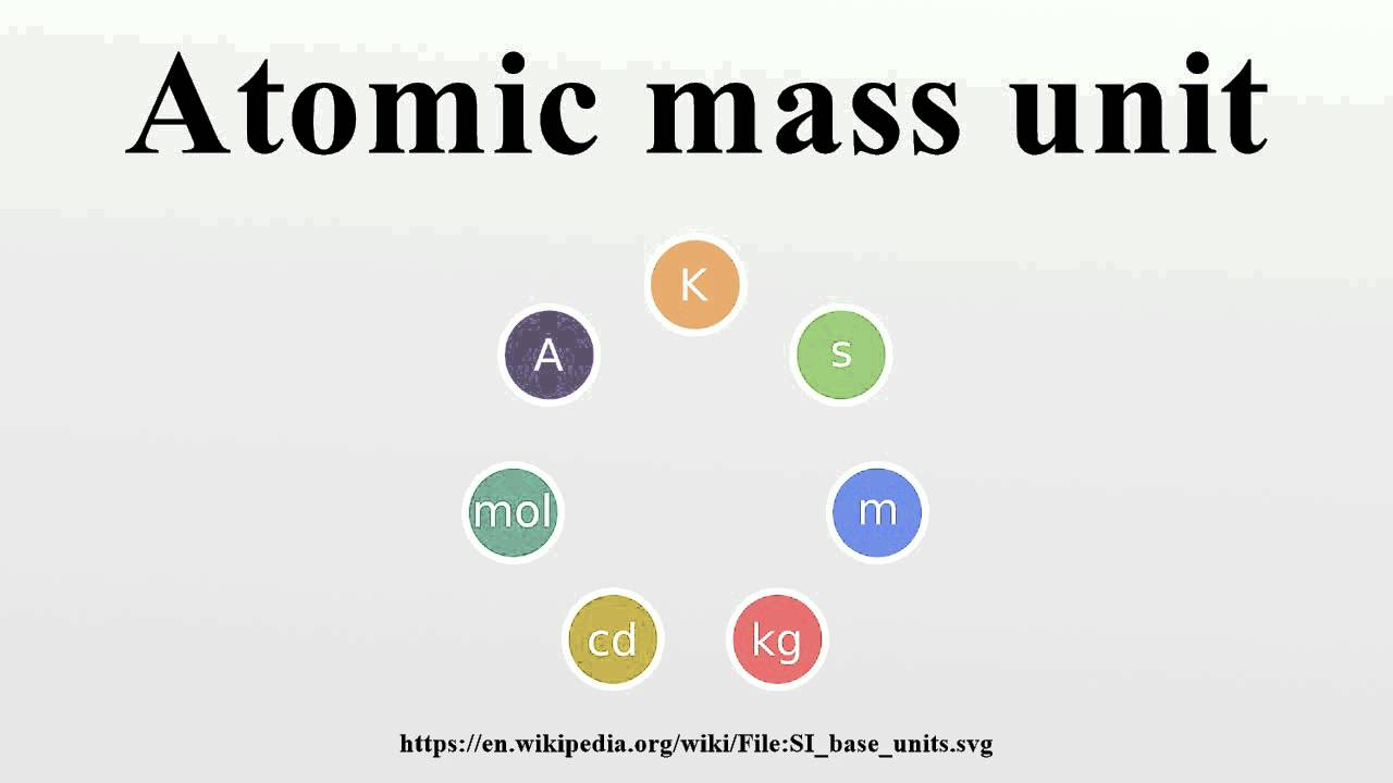 Diagram atomic mass unit chemistry search for wiring diagrams atomic mass unit youtube rh youtube com periodic table of elements with atomic mass mg atomic urtaz Gallery