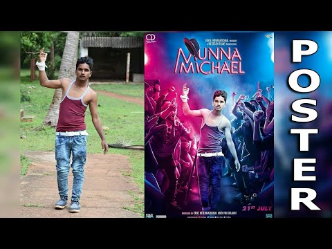 Munna Michael Movie Poster Editing In Picsart How To To
