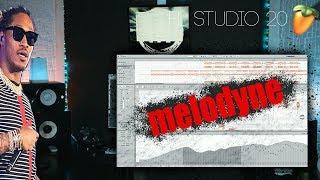 ОБРАБОТКА ГОЛОСА В / MELODYNE Celemony / FL STUDIO 20