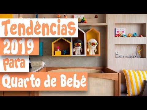 TENDÊNCIAS 2019 PARA QUARTO DE BEBÊ