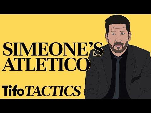Tactics Explained  Diego Simeone&39;s Atlético Madrid