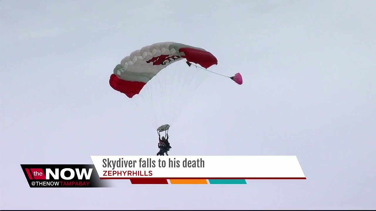 Skydiver Falls To His Death Youtube