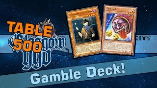 """Table 500 Commentary #3 - Gambler Control """"Is Sanctuary bugged?! He always hits heads!!!"""""""