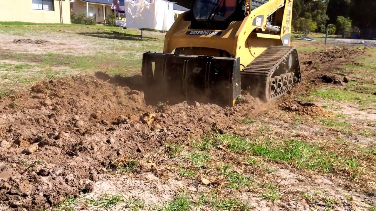 Skid Steer Ripper Himac Attachments Youtube