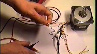 Как соединить обмотки шагового двигателя (параллельное подключение) - Stepper motor winding