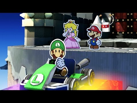 Paper Mario: Color Splash - Final Boss & Ending