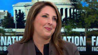 RNC Chair Ronna McDaniel says GOP has 50-50 shot at winning House