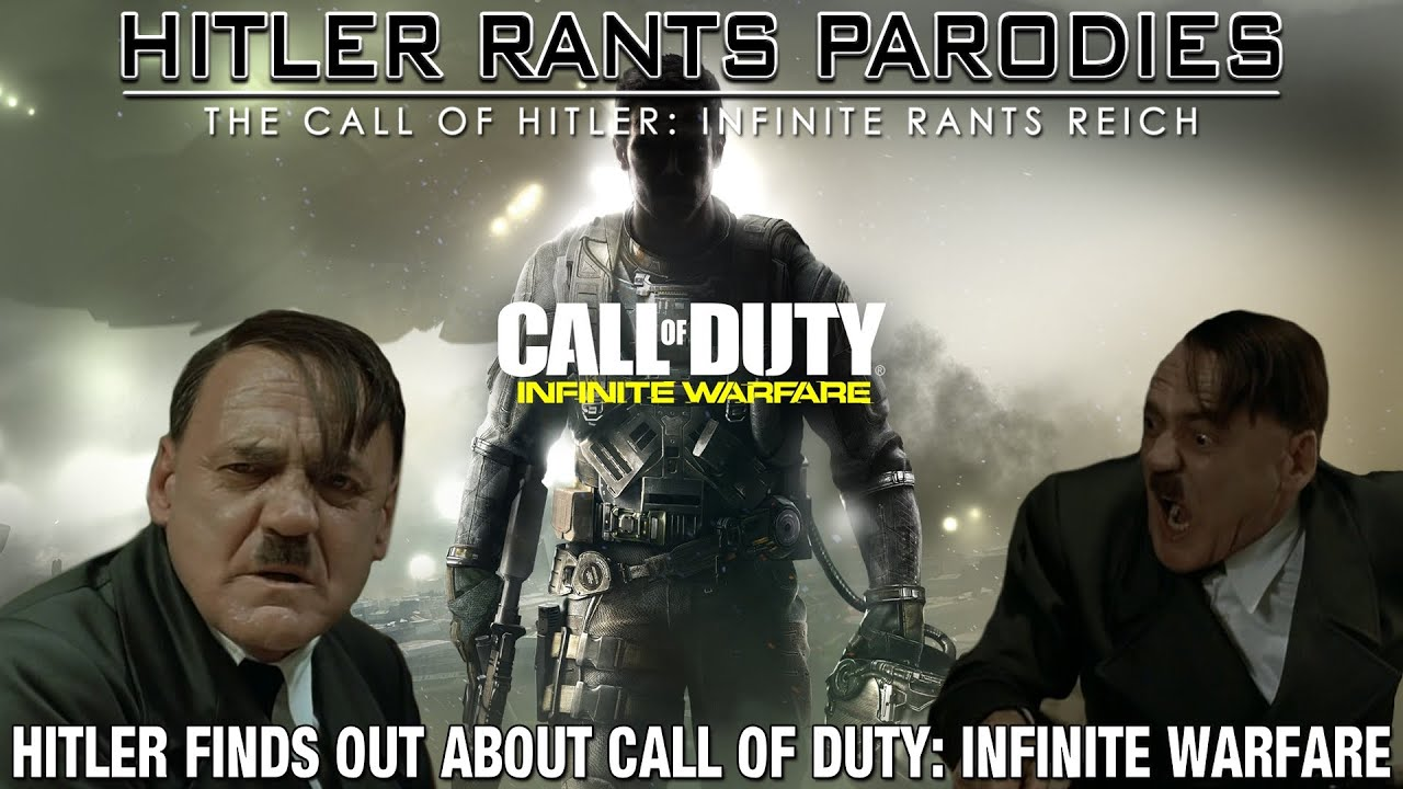 Hitler finds out about Call of Duty: Infinite Warfare
