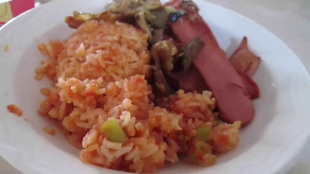 que hago de comer hoy arroz rojo comidas con 50 pesos