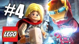 ТОР ПРОТИВ ЖЕЛЕЗНОГО ЧЕЛОВЕКА! LEGO Мстители: Эра Альтрона! #4 (60 FPS) Marvel's Avengers