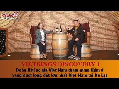 VIETKINGS: Đoàn Kỷ lục gia Việt Nam tham quan Hầm ủ vang dưới lòng đất lớn nhất Việt Nam tại Đà Lạt