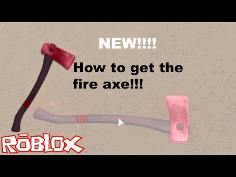 NEW!!! How to get the fire axe!!!!! [Lumber tycoon 2]