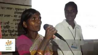 Participatory video: Screening & discussion at Batauli block