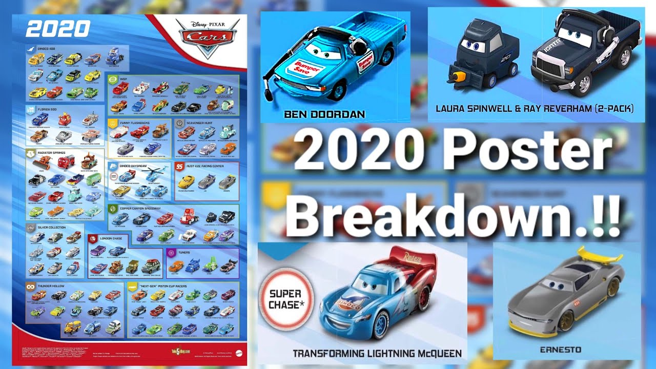 The Haulernews Ep 1 New 2020 Pixar Cars Poster Review Brand New