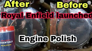 Royal enfield launched engine polish | ncr motorcycles |