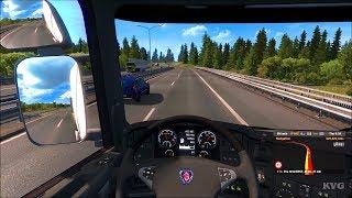 Euro Truck Simulator 2 - Beyond the Baltic Sea - Kaunas to Vilnius | Gameplay (PC HD) [1080p60FPS]