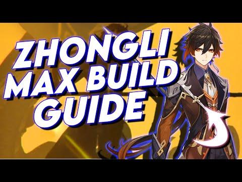 Genshin Impact Zhongli Build Guide   Best Artifacts & Best Weapons   Genshin Impact