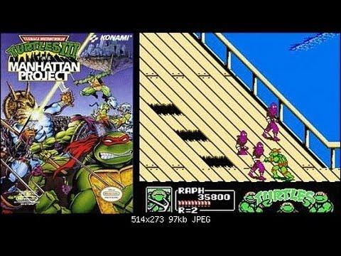 Архив видео от Казановы №10 - TMNT 3 (NES/Dendy) Черепашки ниндзя 3