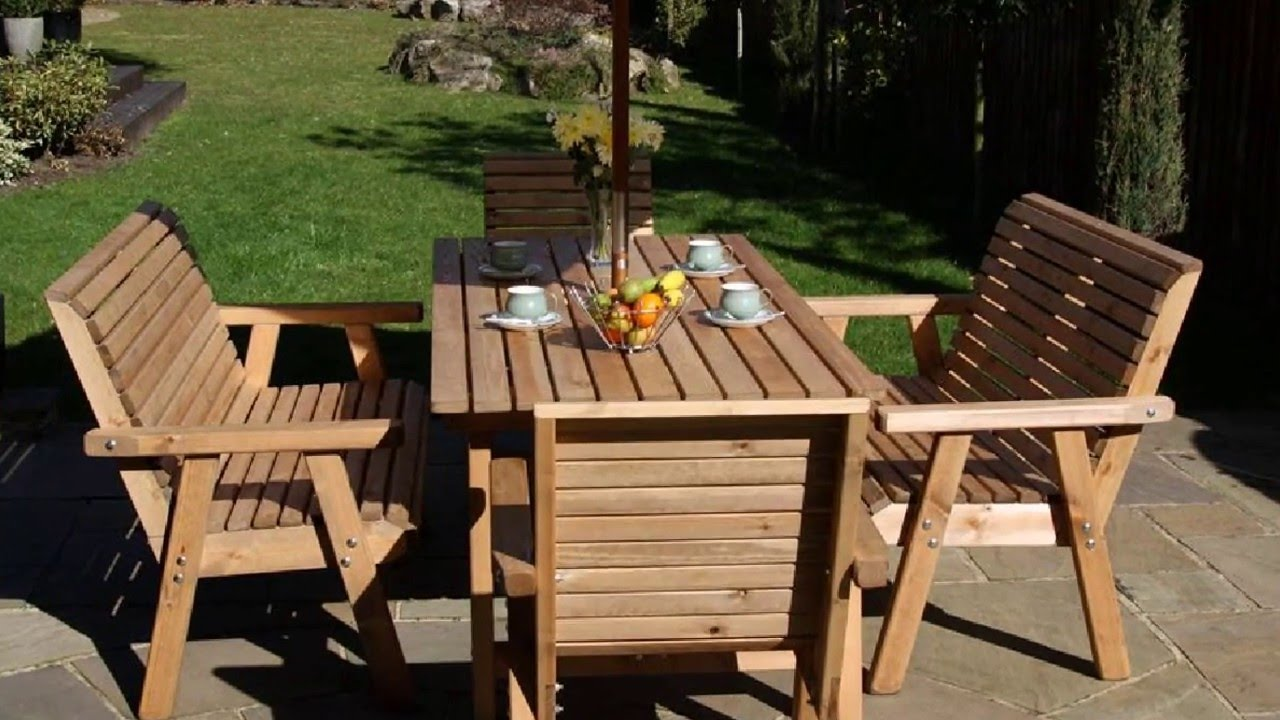 wooden garden chairs uk red recliner top quality handcrafted furniture youtube