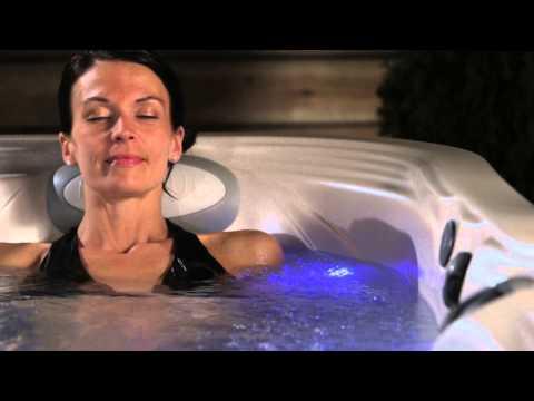 Unwind in a hot tub by Marquis