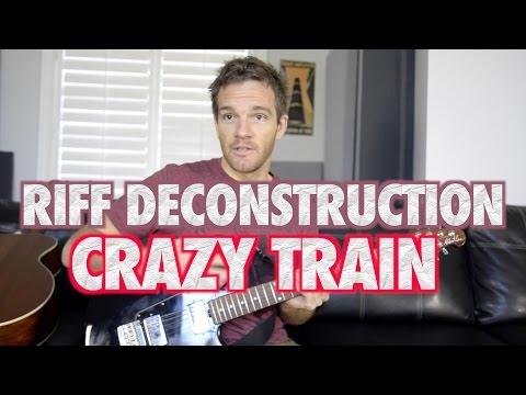 Riff Deconstruction: Crazy Train