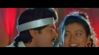 Rajasekhara  from Mugguru Monagallu  Chiranjeevi, Roja Romantic VIDEO SONG