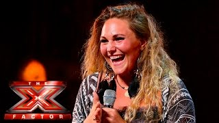 Will it be a War of Words for Lucy Duffield? | Auditions Week 4 | The X Factor UK 2015