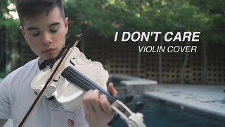 Ed Sheeran & Justin Bieber - I Don't Care - Cover (Violin) Video