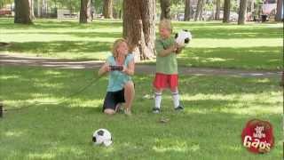 Exploding Soccer Ball Prank