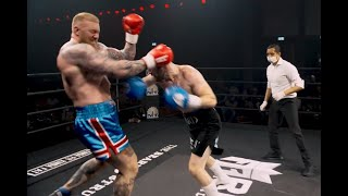Thor Bjornsson Boxing Debut (Highlights) vs Steven Ward