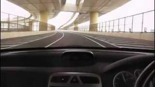 Peugeot 307SW 首都高湾岸線を試乗 プジョー307 test drive