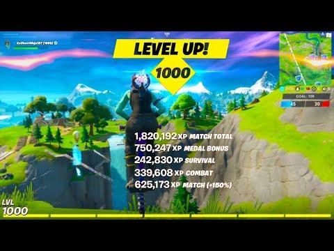 FASTEST Method To MAX LEVEL 1000! (GLITCH)