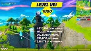 FASTEST Method to MAX LEVEL 1000! (GLITCH)